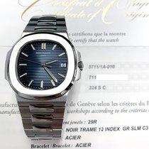 Patek Philippe Nautilus Steel 40mm Blue No numerals United States of America, New York, New York