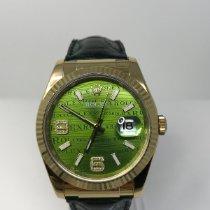 Rolex Datejust Yellow gold 36mm Green