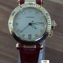 Cartier gebraucht Automatik 35mm Champagnerfarben Saphirglas 10 ATM
