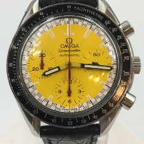 Omega Speedmaster Reduced Stahl 39mm Gelb