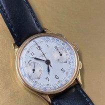 Tavannes Tavannes Chronograph 18k Gold 1940s 1940 usados