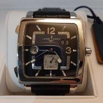 Ulysse Nardin Quadrato Dual Time Steel 42mm Blue No numerals
