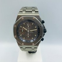 Audemars Piguet Royal Oak Offshore Chronograph 25721TI Очень хорошее Титан 42mm Автоподзавод