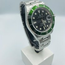 Rolex Submariner Date 16610LV Very good Steel 40mm Automatic