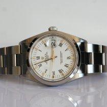 Rolex Oyster Perpetual Date Acier 34mm Blanc Romain France, Thonon les bains