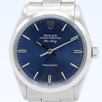 Rolex Air King Precision Acero 34mm Azul Sin cifras España, Barcelona
