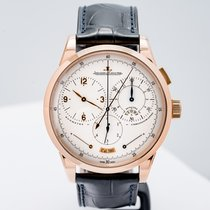 Jaeger-LeCoultre Duomètre Rose gold 42mm Silver Arabic numerals United States of America, Massachusetts, Boston
