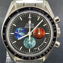 Omega Speedmaster Professional Moonwatch Staal 42mm Zwart Geen cijfers