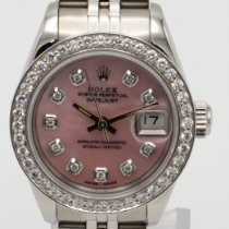 Rolex Lady-Datejust Acero 26mm Madreperla