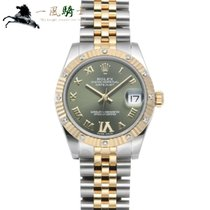 Rolex Lady-Datejust Acero 31mm Verde