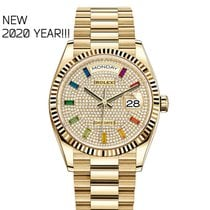 Rolex Day-Date 36 128238 New Yellow gold 36mm Automatic