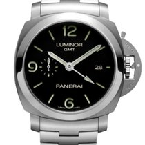 Panerai Luminor 1950 3 Days GMT Automatic PAM 00329 2019 neu