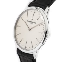Vacheron Constantin Patrimony White gold 40mm Silver No numerals United States of America, New York, New York