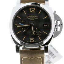 Panerai Luminor 1950 3 Days GMT Power Reserve Automatic Acier 42mm Noir Arabes Belgique, Antwerp