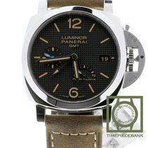 Panerai Luminor 1950 3 Days GMT Power Reserve Automatic Acier 42mm Noir Arabes