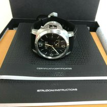 Panerai Luminor 1950 3 Days GMT Power Reserve Automatic pre-owned 44mm Black Date GMT Rubber