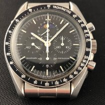 Omega Speedmaster Professional Moonwatch Moonphase Acero Negro