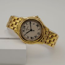 Cartier Cougar Yellow gold 33mm White Roman numerals United States of America, California, Marina Del Rey