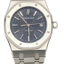 Audemars Piguet Royal Oak Selfwinding Steel 39mm Blue No numerals United States of America, New York, New York