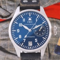 IWC Big Pilot Platino 46mm Blu Arabo