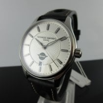 Frederique Constant Vintage Rally Steel 40mm Silver No numerals