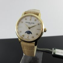 Frederique Constant Slimline Moonphase Steel 30mm Mother of pearl No numerals