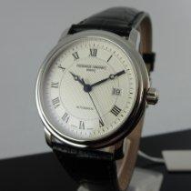 Frederique Constant Classics Automatic Steel 40mm Silver Roman numerals