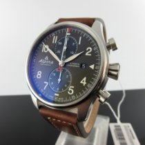 Alpina Startimer Pilot Automatic nuevo 2021 Automático Cronógrafo Reloj con estuche y documentos originales AL-725GR4S6