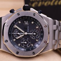 Audemars Piguet Royal Oak Offshore Chronograph Acier 42mm Bleu Arabes