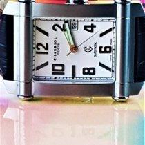 Charriol neu Automatik Zentralsekunde Leuchtzeiger Limitierte Serie Originalzustand/Originalteile 34mm Stahl Saphirglas