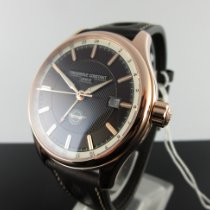 Frederique Constant Vintage Rally Steel 40mm Brown No numerals