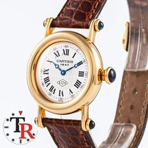 Cartier Diabolo Yellow gold 28mm White