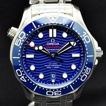 Omega Seamaster Diver 300 M nuevo 2020 Automático Reloj con estuche y documentos originales 210.30.42.20.03.001