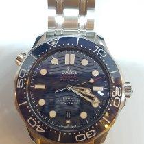 Omega Seamaster Diver 300 M Acier 42mm Bleu Sans chiffres
