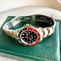 Rolex 16710BLRO Сталь 1996 GMT-Master II 40mm подержанные