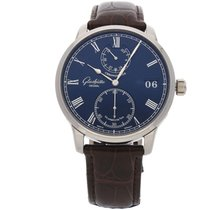 Glashütte Original Senator Chronometer White gold 42mm Blue Roman numerals