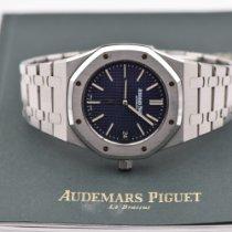 Audemars Piguet Acier Remontage automatique Bleu Sans chiffres 39mm occasion Royal Oak Jumbo