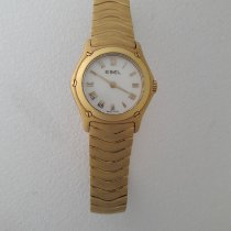 Ebel Classic Yellow gold 22mm Mother of pearl Roman numerals