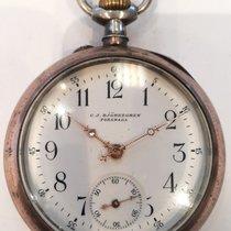 Chopard Silver Manual winding White Arabic numerals 50mm pre-owned L.U.C
