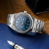 Audemars Piguet Royal Oak Day-Date Stahl 36mm Blau