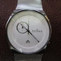 Skagen Steel 42mm Quartz pre-owned