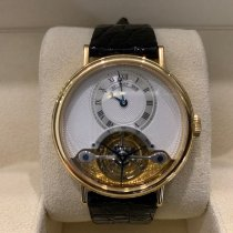 Breguet pre-owned Manual winding 36mm Silver Sapphire crystal