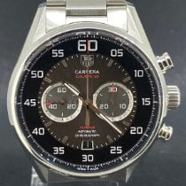 TAG Heuer Carrera Calibre 36 Acier 43mm Gris Arabes