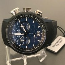 Edox Chronorally Acero 48mm Azul Sin cifras