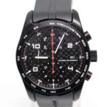 Porsche Design Chronotimer Titanium 42mm Black Arabic numerals