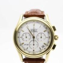 Zenith Yellow gold Automatic White pre-owned El Primero Chronograph