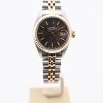 Rolex Lady-Datejust Zlato/Zeljezo 26mm Siv Bez brojeva