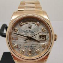 Rolex Day-Date 36 118205 Jó Rózsaarany 36mm Automata