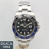 Rolex Steel 40mm Automatic 116710BLNR pre-owned