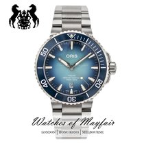 Oris Aquis Date Steel 43.5mm Blue United Kingdom, London